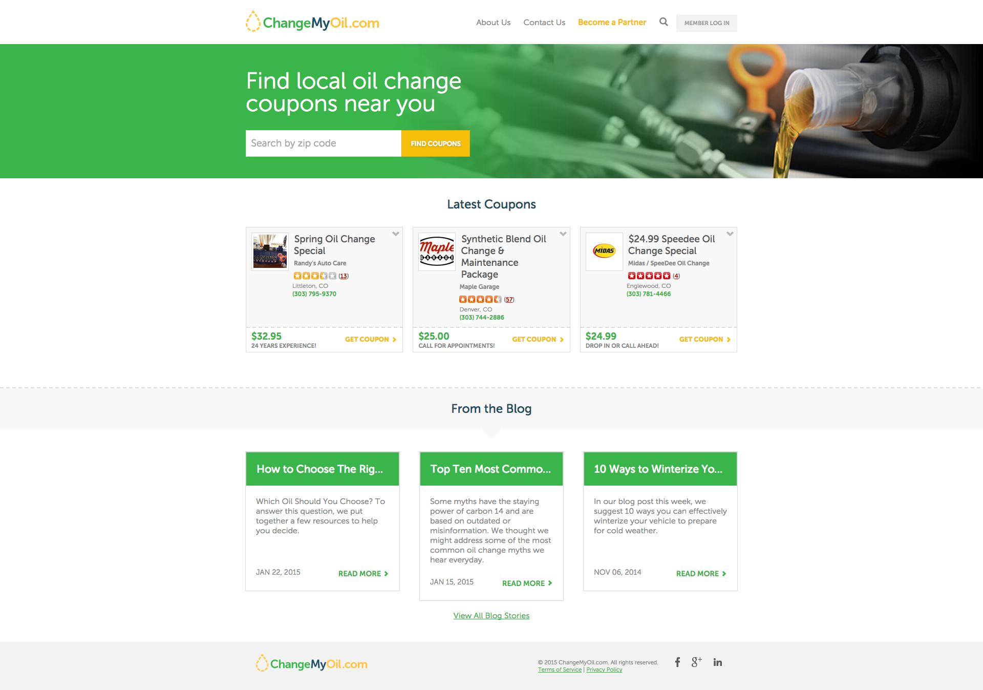 ChangeMyOil.com
